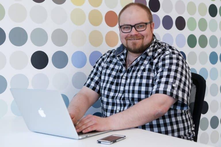 Thomas Pedersen, webbkommunikatör, Mediamakarna Grip Webbyrå.