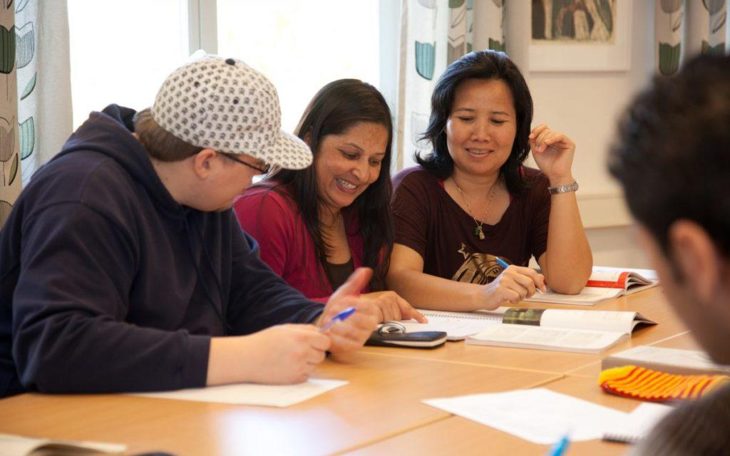 Webbyrå Mediamakarna Grip lanserar ny webbplats till Bäckedals folkhögskola.