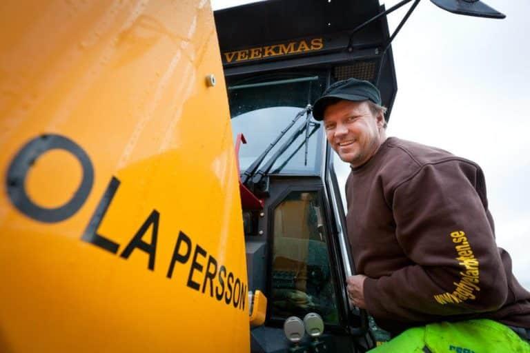 I dag har vi på webbyrå Mediamakarna Grip lanserat en ny hemsida till Ola Persson och hans företag Väghyvelarbeten i Sveg.