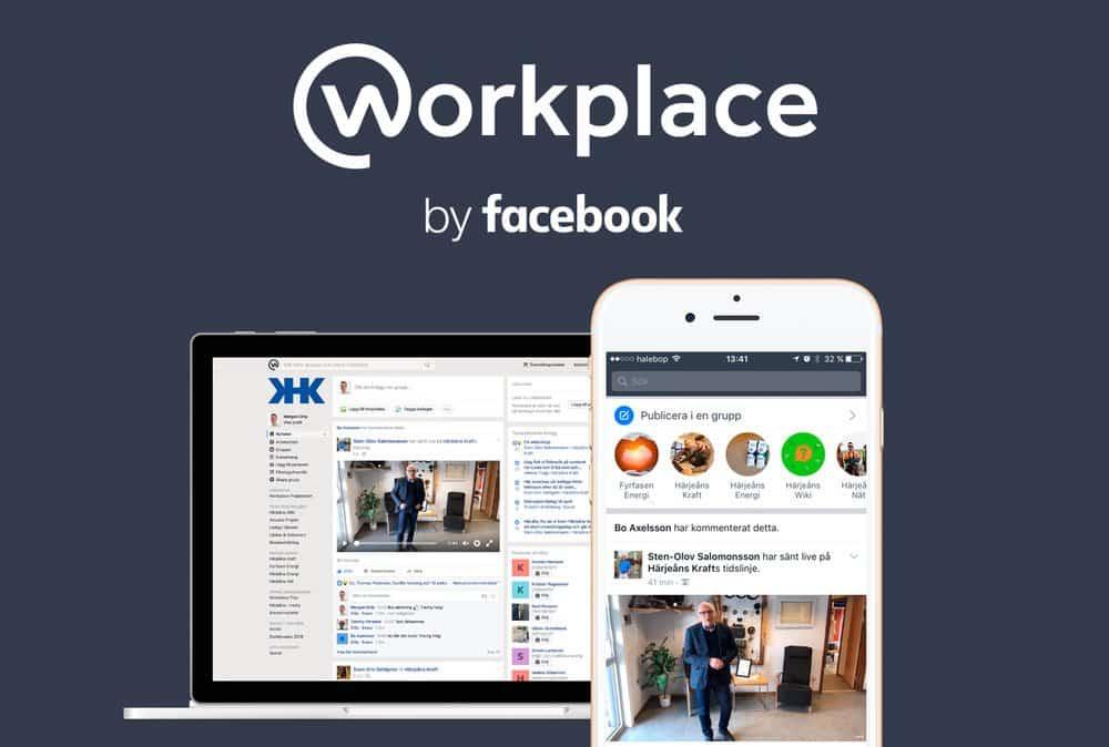 Vi på Webbyrå Mediamakarna Grip hjälpte Härjeånskoncernen att sätta upp och konfigurera deras nya intranät i Workplace by facebook.