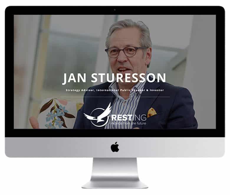 Jan Sturesson / Resting - en hemsida utvecklad och driftad av Webbyrå Mediamakarna Grip - Vi hjälper kunder över hela landet att synas med en professionell hemsida.