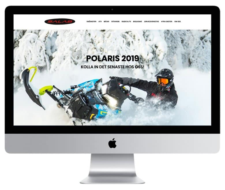 Salab - en hemsida utvecklad och driftad av Webbyrå Mediamakarna Grip - Vi hjälper kunder över hela landet att synas med en professionell hemsida.