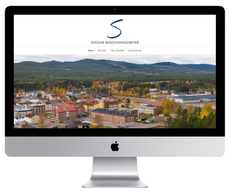 Svedab i Sveg - en hemsida utvecklad och driftad av Webbyrå Mediamakarna Grip - Vi hjälper kunder över hela landet att synas med en professionell hemsida.