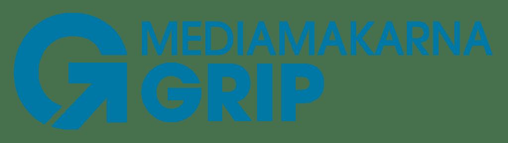 Mediamakarna Grip Webbyrå Logotyp