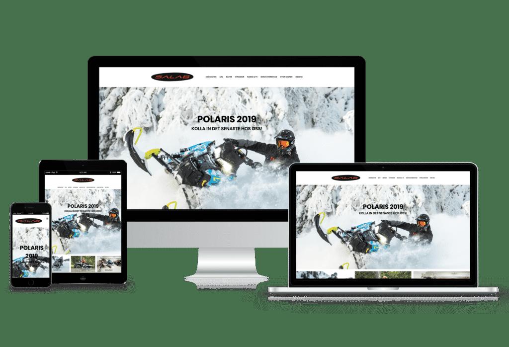 Webbdesign av webbyrå Mediamakarna Grip.