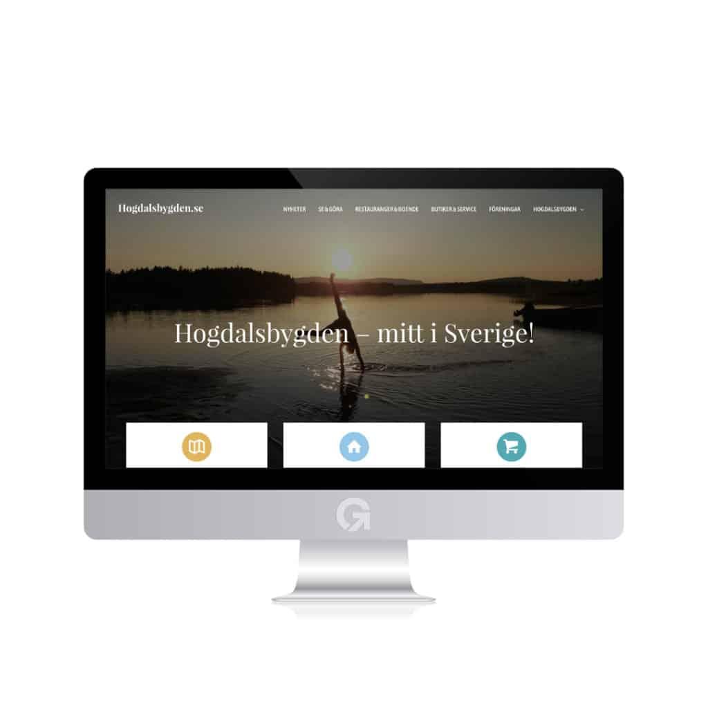 Hogdalsbygden.se - en hemsida utvecklad och driftad av Webbyrå Mediamakarna Grip - Vi hjälper kunder över hela landet att synas med en professionell hemsida.