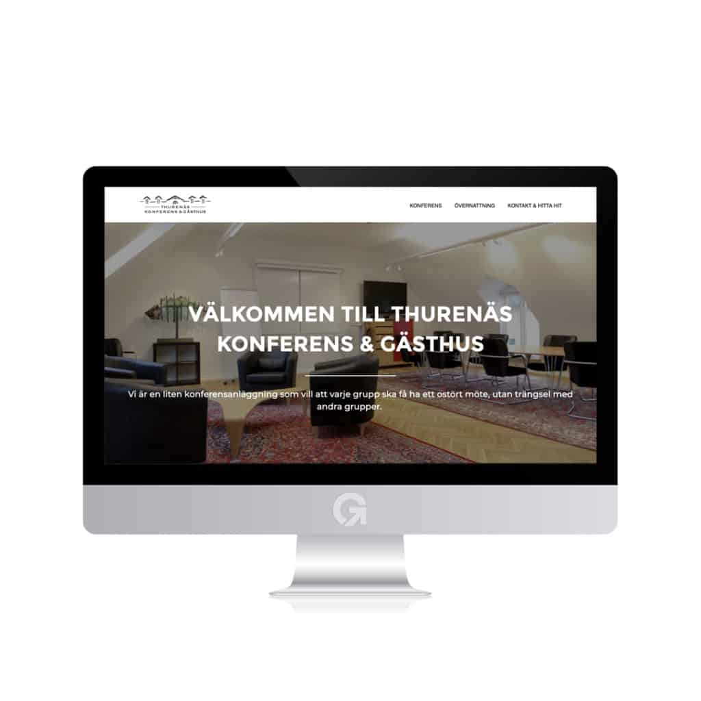 Thurenäs Konferens & Gästhus i Skåne - en hemsida utvecklad och driftad av Webbyrå Mediamakarna Grip - Vi hjälper kunder över hela landet att synas med en professionell hemsida.