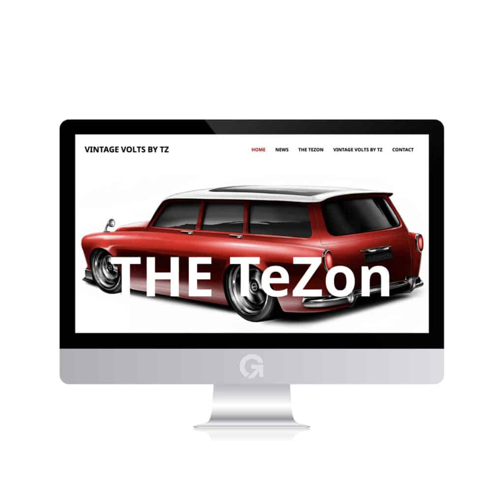 Vintage Volts by TZ - en hemsida utvecklad och driftad av Webbyrå Mediamakarna Grip - Vi hjälper kunder över hela landet att synas med en professionell hemsida.