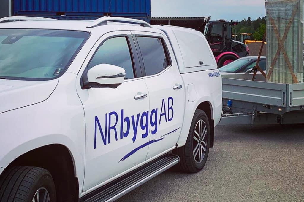 Webbyrå Mediamakarna Grip lanserar ny webbplats till NR Bygg & Plåt i Stockholm.