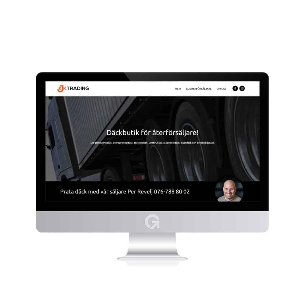 däck,däckonline,däckia,däck och fälg,kjk trading,ny webbplats,lanserar ny webbplats,lansering av ny webbplats