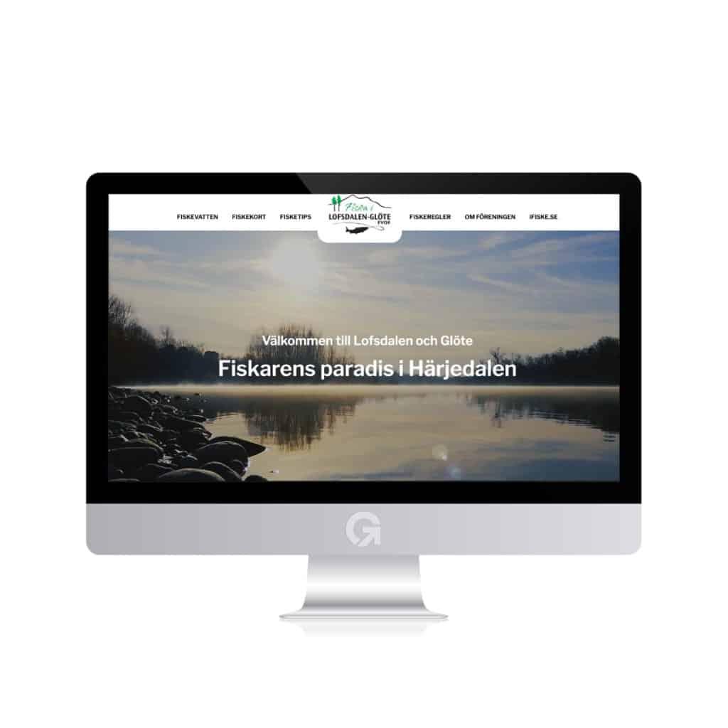 En hemsida producerad av Webbyrå mediamakarna Grip
