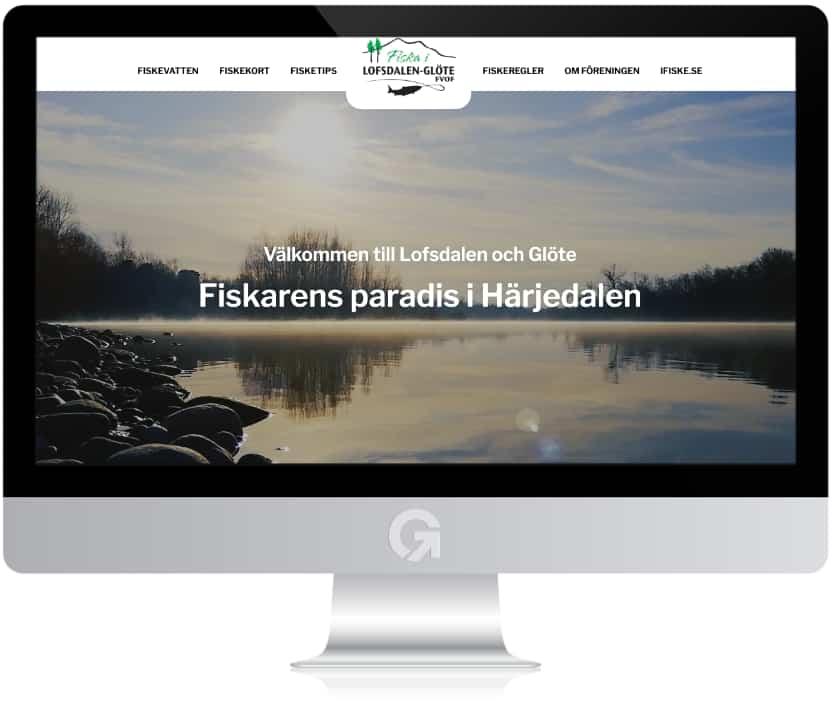 Lofsdalen-Glöte fiskevårdsområdesförening - en hemsida utvecklad och driftad av Webbyrå Mediamakarna Grip - Vi hjälper kunder över hela landet att synas med en professionell hemsida.