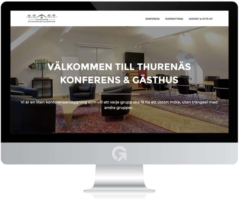 Thurenäs Konferens & Gästhus - en hemsida utvecklad och driftad av Webbyrå Mediamakarna Grip - Vi hjälper kunder över hela landet att synas med en professionell hemsida.