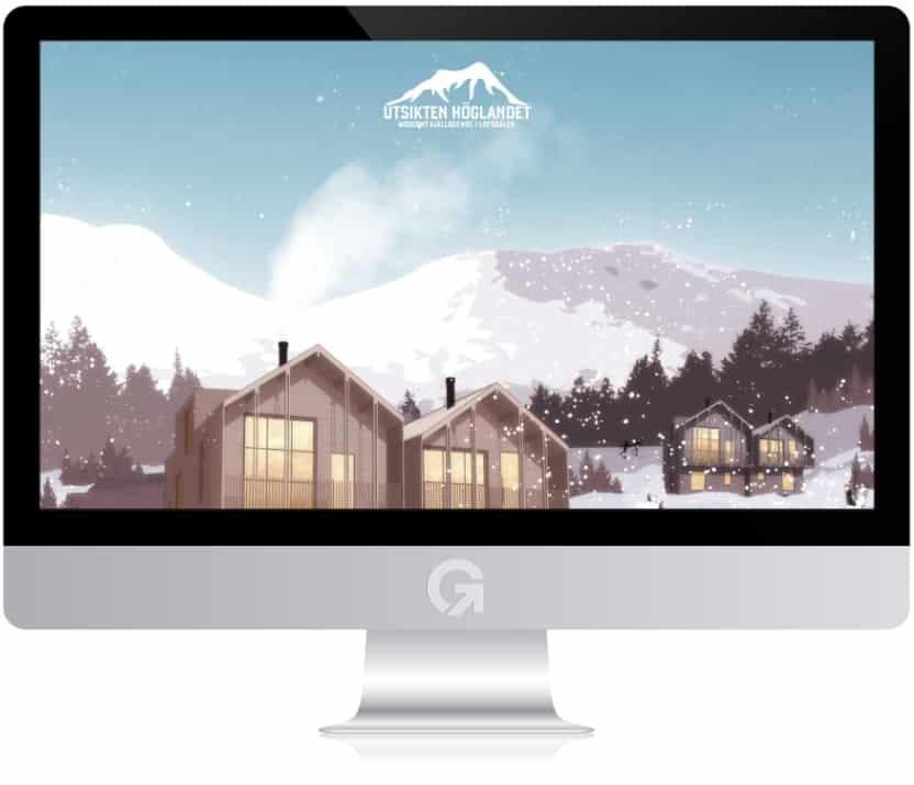 Utsikten Höglandet Lofsdalen - en hemsida utvecklad och driftad av Webbyrå Mediamakarna Grip - Vi hjälper kunder över hela landet att synas med en professionell hemsida.
