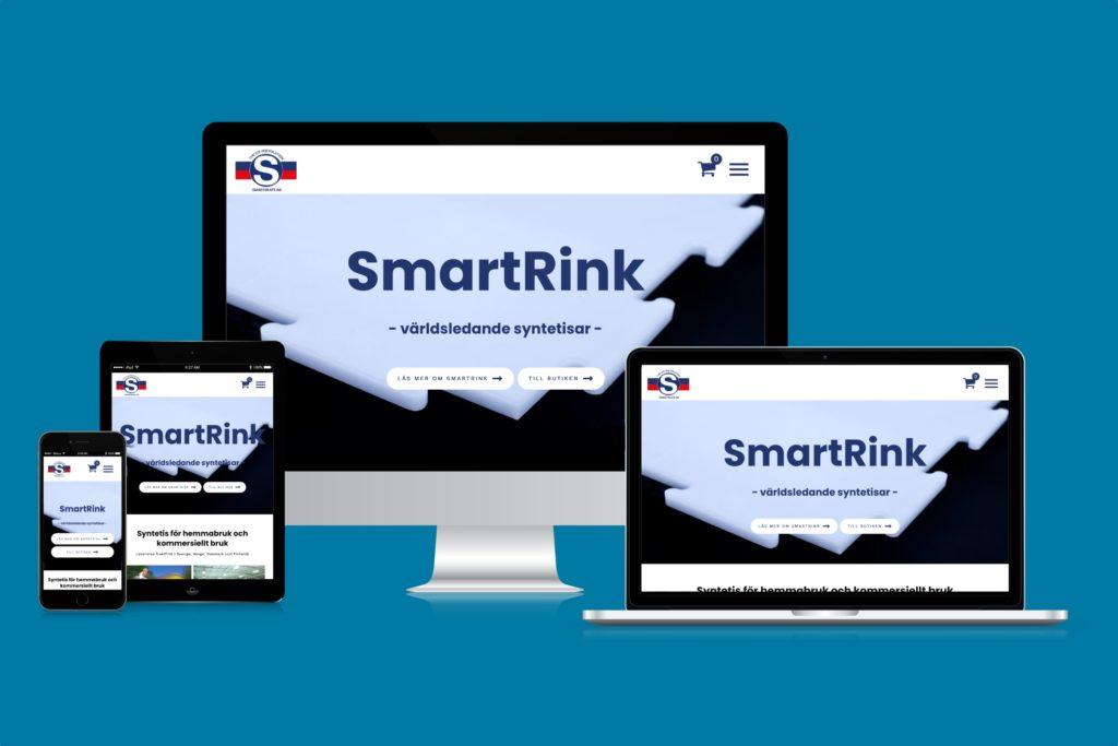 Mobilanpassad webbplats med responsiv webbdesign