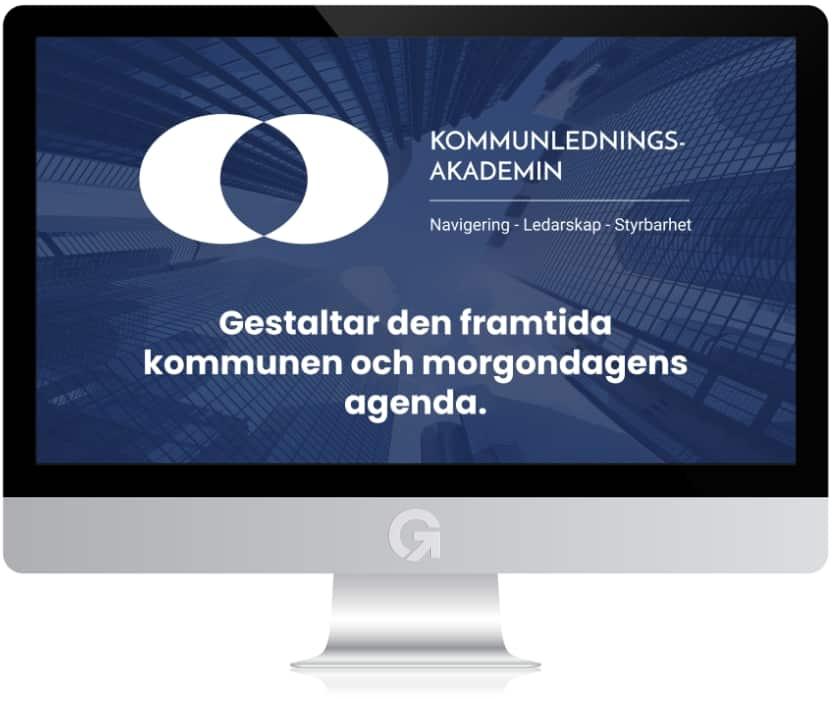 Kommunledningsakademin.se - en hemsida utvecklad och driftad av Webbyrå Mediamakarna Grip - Vi hjälper kunder över hela landet att synas med en professionell hemsida.