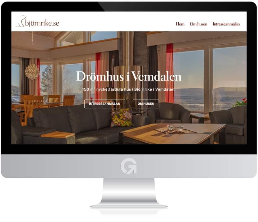Björnrike.se - en hemsida utvecklad och driftad av Webbyrå Mediamakarna Grip - Vi hjälper kunder över hela landet att synas med en professionell hemsida.